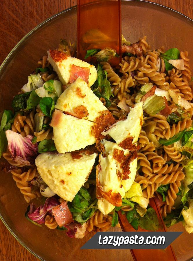 Fusilli salad with Mastello cheese recipe.