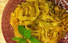 Fettuccine al Finocchio (Fennel) recipe.
